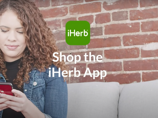iHerb Celebrates the Success of Its Apps with a 20% Off Promotion