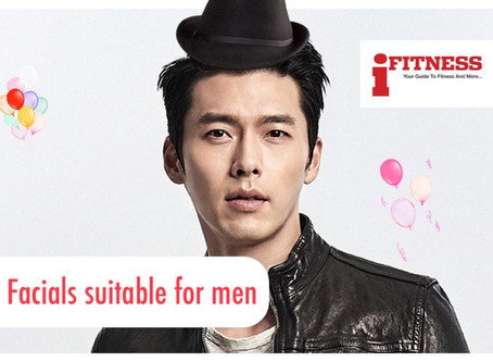 Top 5 Facials suitable for Men at Lee Na Young Aesthetic