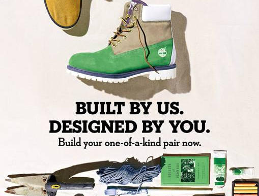 TIMBERLAND® Design Your Own Custom Made Timberland Footwear