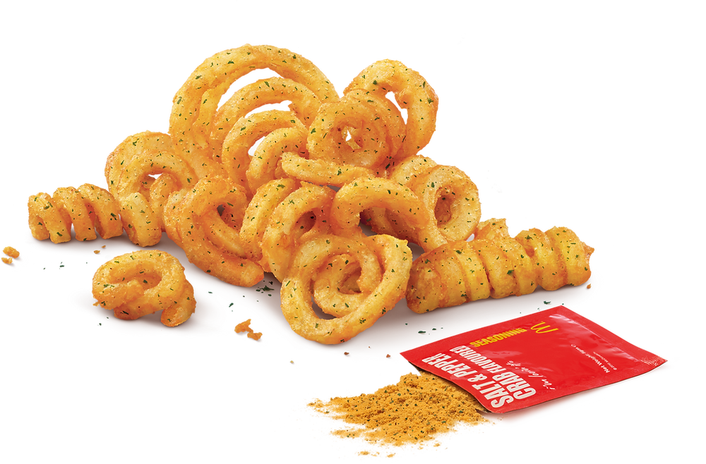Twist & Shake Fries (M) with Salt & Pepper Crab Flavoured Shaker