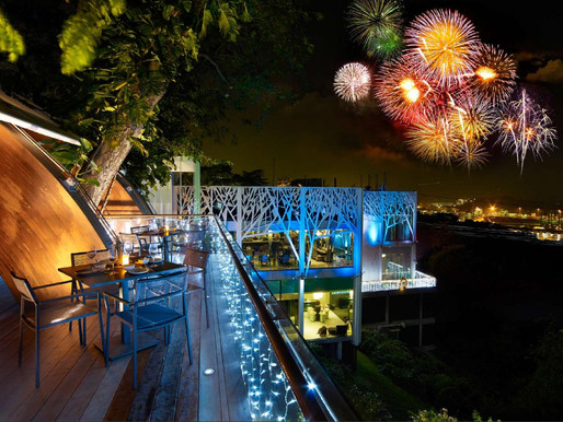 End the year high on happiness at Faber Peak Singapore