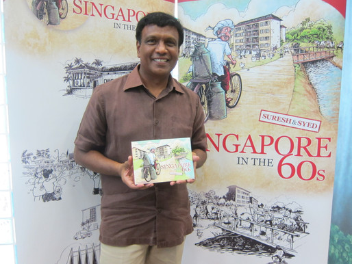 Bestselling author and co-creator of Mr Kiasu James Suresh produces a SG50 illustrated book 'Singapo