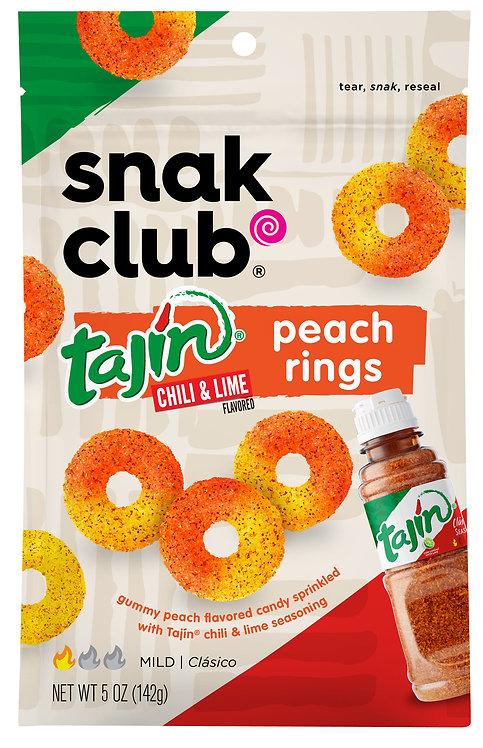 Snak Club, PP Tajin Peach Rings
