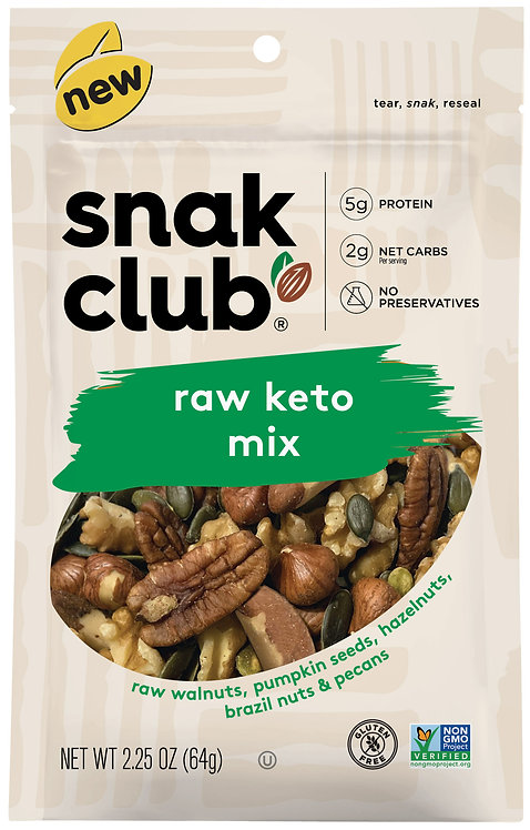 Snak Club, PP Raw Keto Mix