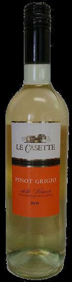 Le Casette, Pinot Grigio delle Venezie (2015)