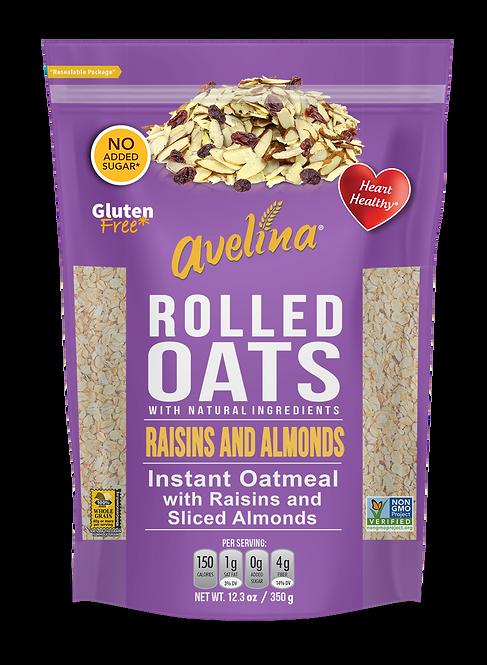 Avelina Raisins & Almonds Instant Oatmeal 12.34oz (350g)