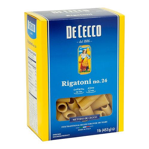 De Cecco, Rigatoni Pasta #24