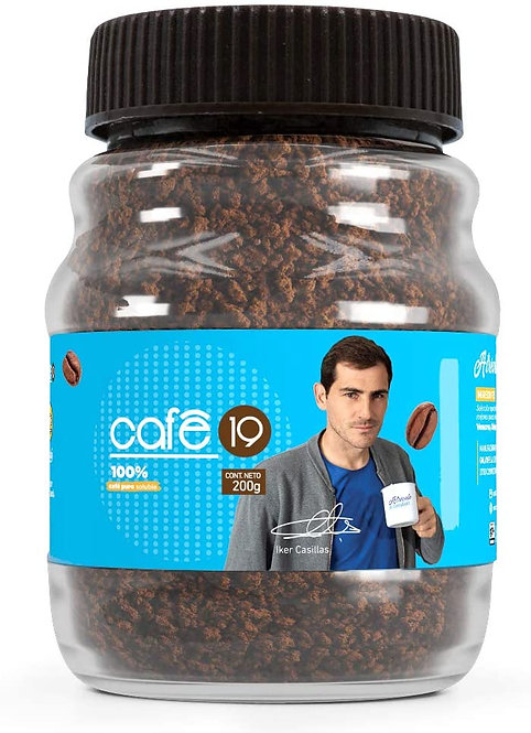 Cafe 19, Decaf Soluble Coffee, 100% Pure, 7oz (200 g)