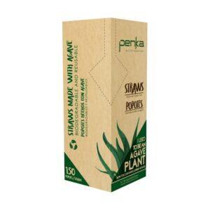 "Penka: 8.2"" Biodegradable Straws Front"