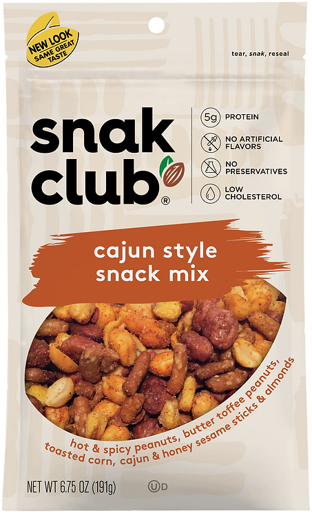 Snak Club, PP Cajun Savory Mix