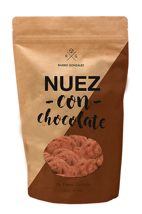 Pecans with Chocolate Rivero Gonzalez 4.76 oz. (135g)