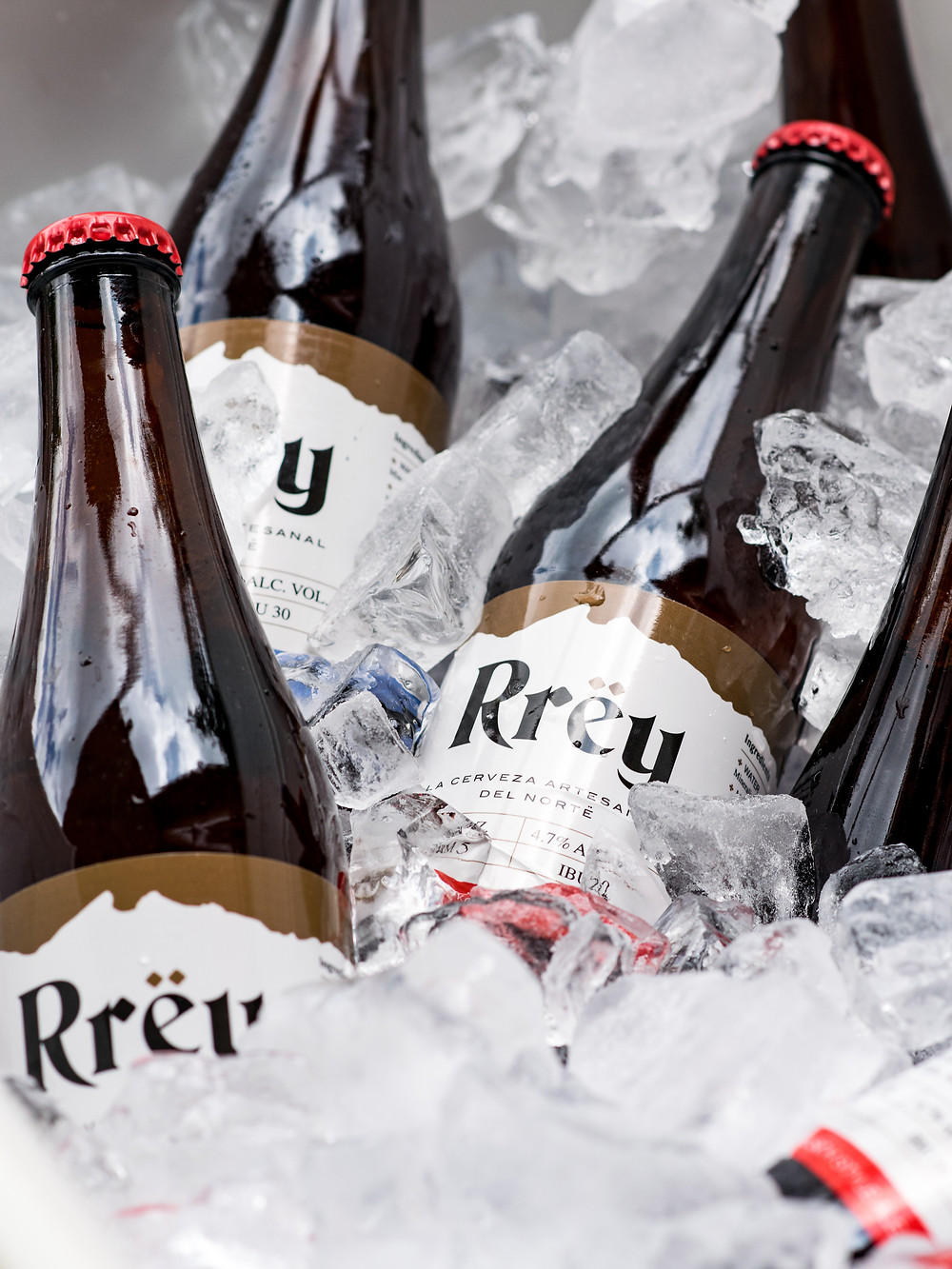 Quest Beverage is importing Mexican craft beers into the U.S. including a Kölsch, shown here, and a London-style ale from Cerveza Rrëy, based in Monterrey, Mexico. (Photo: Quest Beverage)