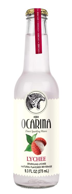 Ocarina: Lychee 9.3FL OZ 275ml         Case of 24 Bottles