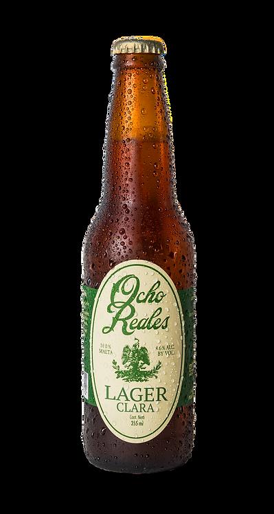 """Ocho Reales Beer """"Lager Clara"""""""