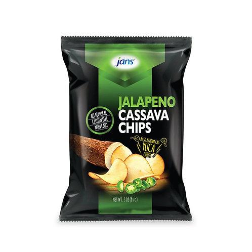 Jans Jalapeno Cassava Chips, 3 oz (85g)