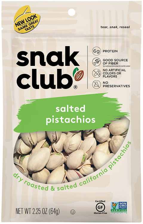 Snak Club, PP Salted Pistachios