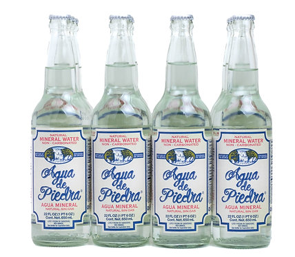 Agua de Piedra Still Water 12oz