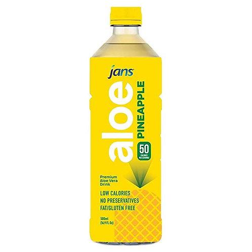 Jans Aloe Vera - Pineapple 16.9oz (500ml)