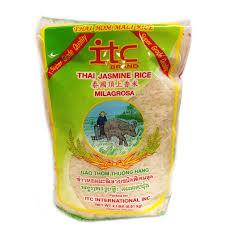 Jasmine Rice ITC, 2 LB (.91kg)