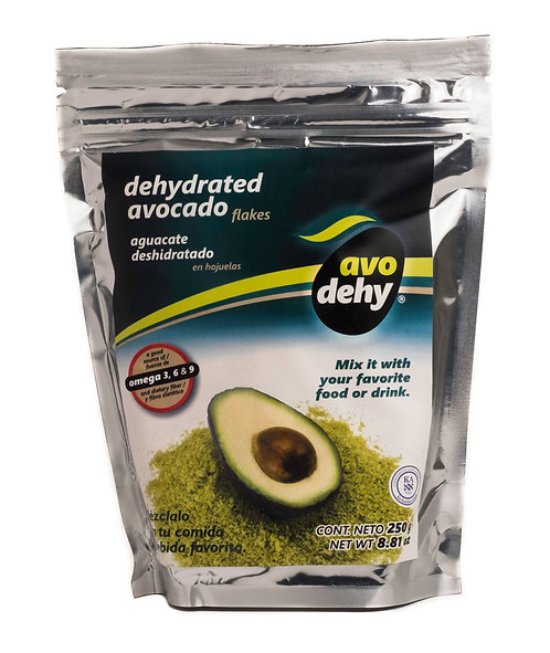 Avodehy, Avocado Flakes 8.8 oz. (250g) Front View