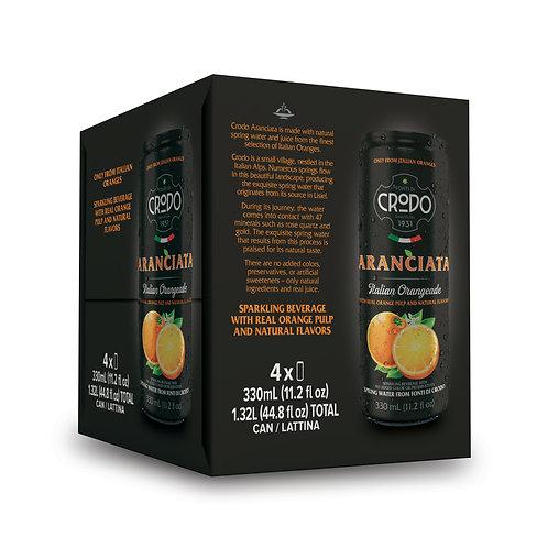Aranciata Crodo (4 pack)