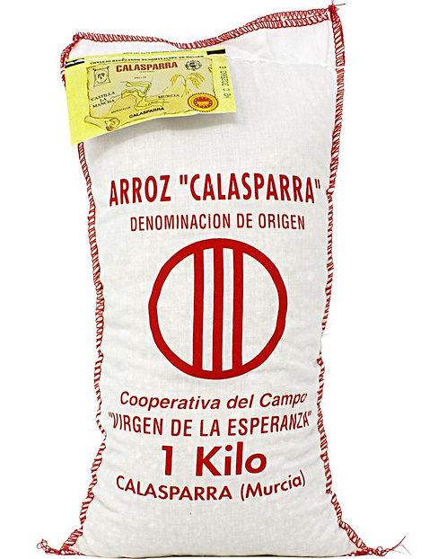 Calasparra Rice Virgen de la Esperanza 2.2 lbs (1kg)