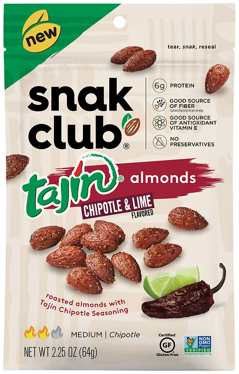 Snak Club, PP Tajin Chipotle Almond