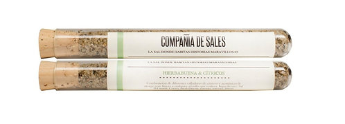 Compania de Sales: Spearmint & Citrus Sea Salt , 2-pack
