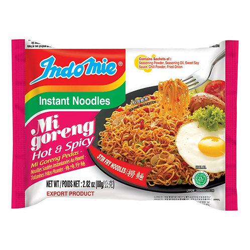 Indomie, Mi Goreng Hot & Spicy 2.82oz (80g)