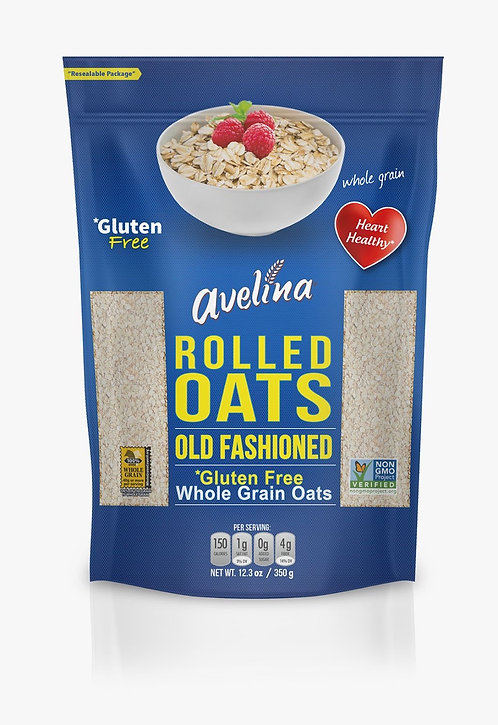 Avelina, Old Fashioned Oats 12.3oz Resealable Bag
