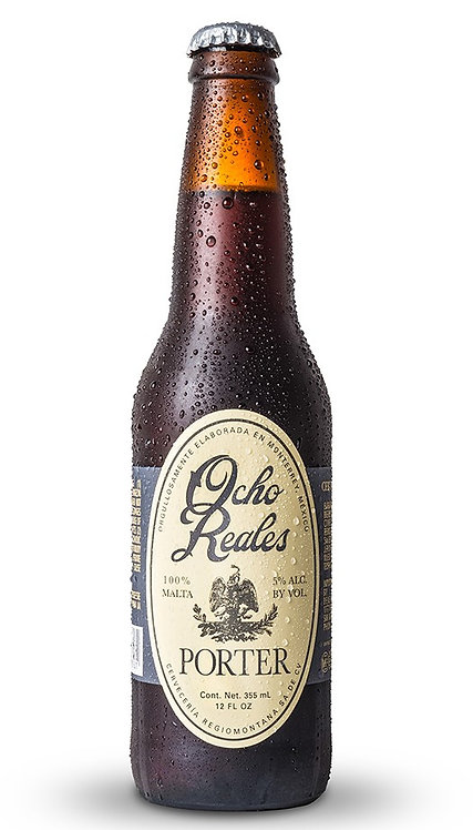 "Ocho Reales Beer ""Porter"" Case of 24 Bottles"