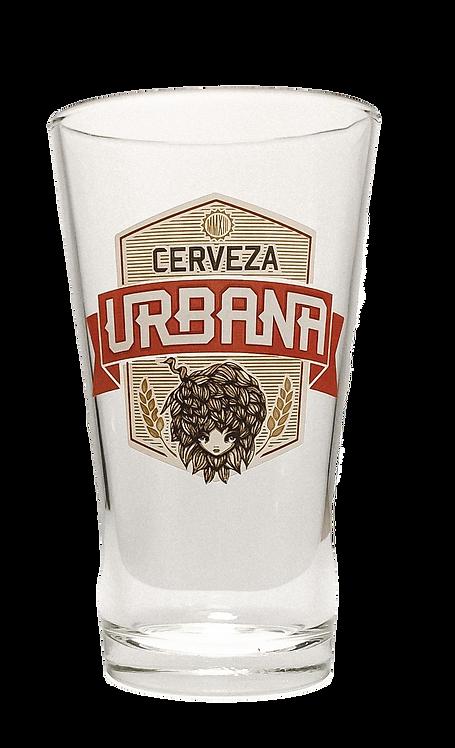 Cerveza Urbana Shaker Glass