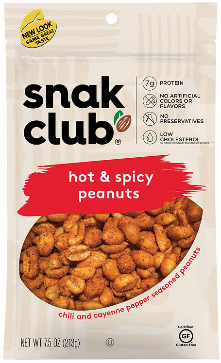 Snak Club, Peanuts Hot and Spicy