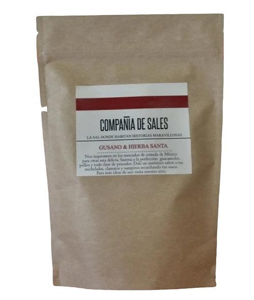 Compania de Sales: Agave Worm & Mexican PepperLeaf Sea Salt 1kg