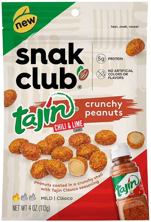 Snak Club, PP Tajin Crunchy Peanuts