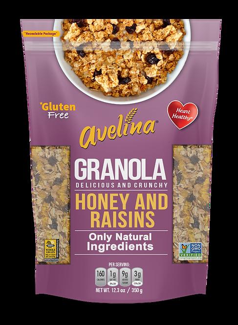 Avelina Raisins & Almonds 12.34oz (350g)