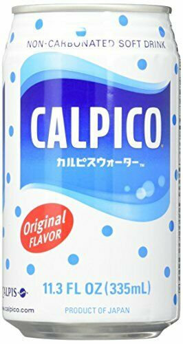 Calpico Water 11.3 FlOZ 335ml Case of 24 Cans