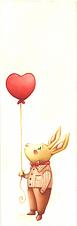 "Bookmark ""Rabbit in Love"""