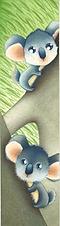 """Bookmark """"Koala"""""""