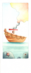 "Bookmark ""The Boat"""