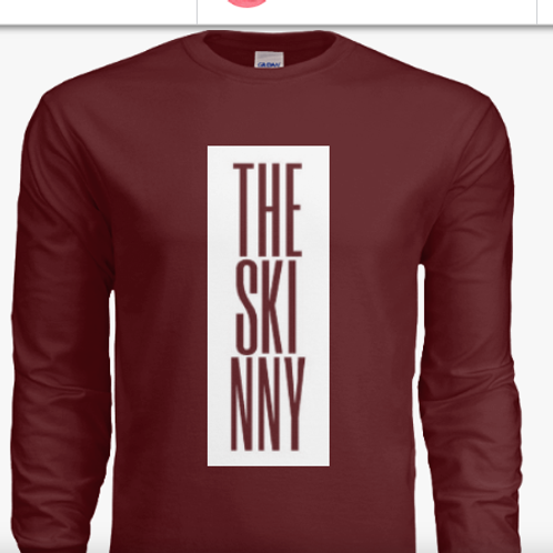 The Skinny Poetry Form Classic T (Long Sleeve)