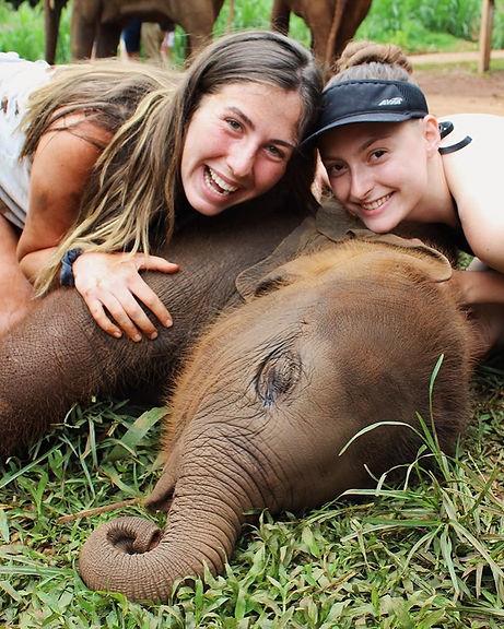 Team at Patara Elephant Farm