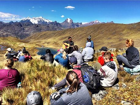 Worship in Cusco