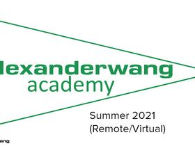 Alexander Wang Academy - Summer Internship