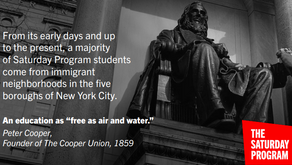 Free Saturday Program - Cooper Union
