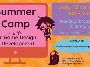 Summer CAMP for Game Design Development