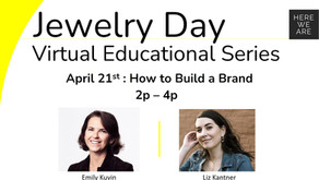 NYC Jewelry Week - The Jewelry Project: Build a Brand