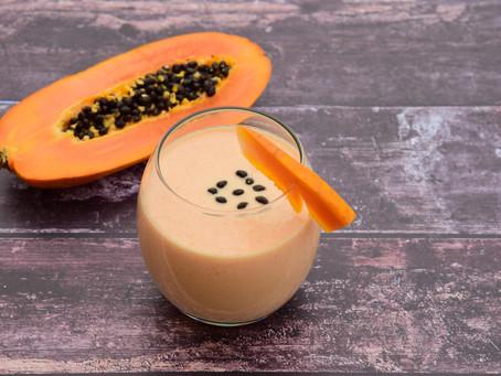 A taste of heaven - Papayasmoothie