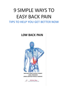FREE LOW BACK PAIN E-BOOK