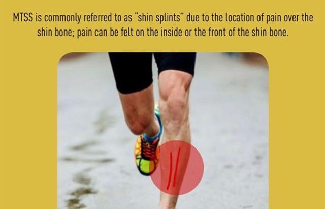 Shin pain while running